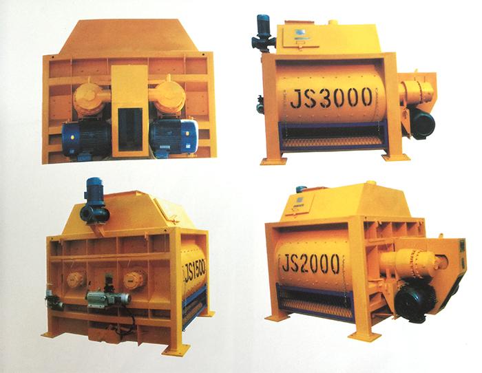 JS3000/2000/1500B型混凝土搅拌机
